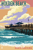 Holden Beach  North Carolina - Fishing Pier