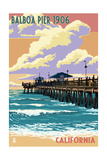Balboa  California - Balboa Pier since 1906