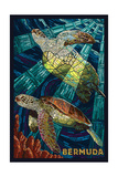 Bermuda - Sea Turtles Mosaic