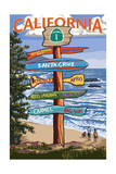 Santa Cruz  California - Signpost Destinations