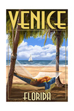 Venice  Florida - Palms and Hammock