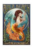 Avila Beach  California - Mermaid