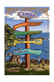 Cambria  California - Destination Sign