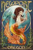 Newport  Oregon - Mermaid