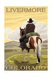 Livermore  Colorado - Cowboy and Horse