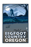 Oregon Bigfoot Country