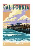 California - Pier Scene