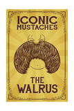 Iconic Mustaches - Walrus