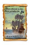 Savannah  Georgia - Pirate Ship