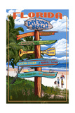 Daytona Beach  Florida - Sign Destinations