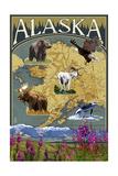 Alaska - Topographical Map