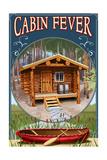 Torch Lake  Michigan - Cabin in Woods