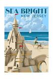 Sea Bright  New Jersey - Sandcastle