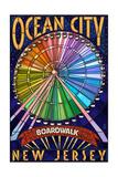 Ocean City  New Jersey - Boardwalk Ferris Wheel