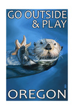 Go Outside and Play - Oregon Sea Otter