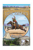 Little America  Wyoming - Montage