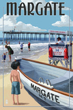 Margate  New Jersey - Lifeguard Stand