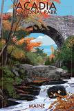 Acadia National Park  Maine - Stone Bridge