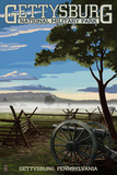 Gettysburg  Pennsylvania - Military Park