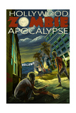 Hollywood  California - Zombie Apocalypse