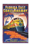 Key West  Florida - East Coast Railway