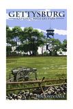 Gettysburg  Pennsylvania - Battlefield Tower