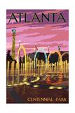 Atlanta  Georgia - Centennial Park