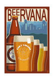 Fort Collins  Colorado - Beervana Vintage Sign