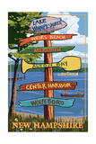Lake Winnipesaukee  New Hampshire - Signpost Destinations