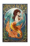 Hermosa Beach  California - Mermaid