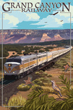 Grand Canyon Railway  Arizona - Meadow