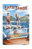 Lake Tahoe - Water Skiing Scene