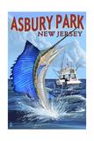 Asbury Park  New Jersey - Sailfish Deep Sea Fishing