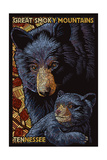 Bear Mosaic - Great Smoky Mountains  Tennesse