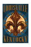 Louisville  Kentucky - Fleur de Lis