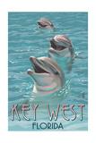 Key West  Florida - Dolphin Trio