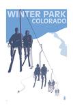 Winter Park  Colorado - Ski Lift