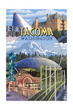 Tacoma  Washington - Montage Scenes