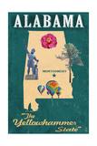 Alabama - State Icons