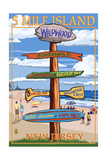 Wildwood  New Jersey - Destination Sign