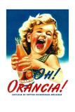 Oh! Orancia - Vintage Soda Advertisement