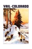 Vail  Colordao - Sledding and Skiing