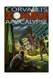 Corvallis  Oregon - Zombie Apocalypse