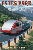 Estes Park  Colorado - Retro Camper