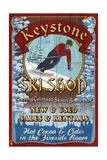 Keystone  Colorado - Ski Shop Vintage Sign