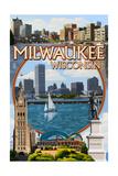 Milwaukee  Wisconsin - Montage Scenes