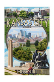Kansas City  Missouri - Montage Scenes