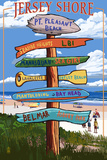Pt Pleasant Beach  New Jersey - Destinations Signpost