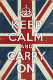 Union Jack - Keep Calm and Carry On