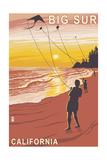Big Sur  California - Kite Flyer